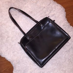 Lodi's leather laptop bag - used, good condition